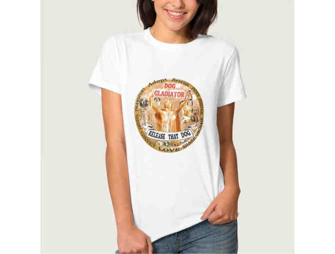 Dog Gladiator T-Shirt- Personalized!