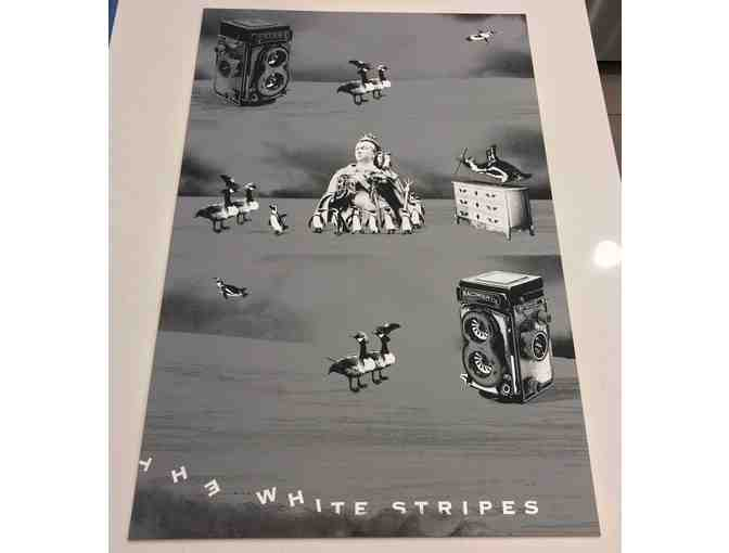 The White Stripes Vault 33 Uncut Poster Variant