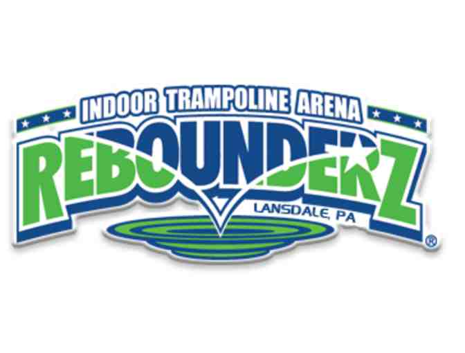 10 Pack of 1 Hour Jump Passes to Rebounderz - Photo 1