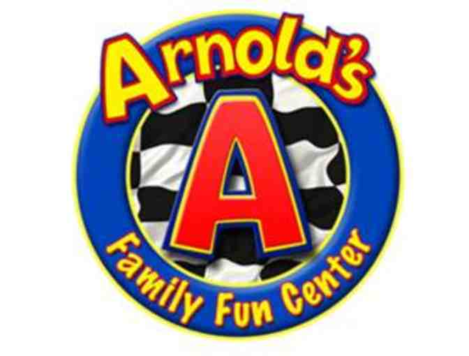 $25 Gift Card to Arnold's Family Fun Center - #2 - Photo 1