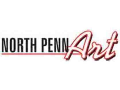 $100 Gift Certificate to North Penn Art, Inc.