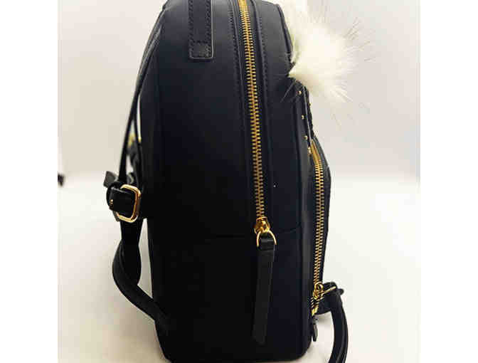 Kate Spade Black Owl Small Backpack - Photo 2