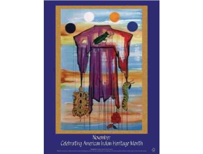 Celebrating American Indian Heritage Month Poster