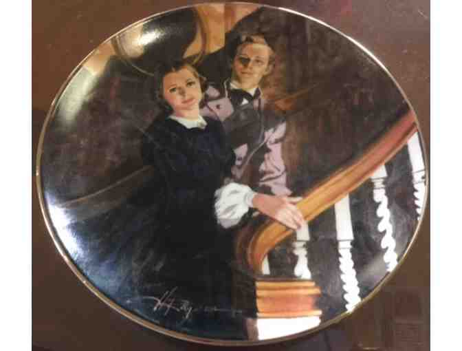 Melanie and Ashley -Gone With the Wind Golden Anniversary Fine China Plate