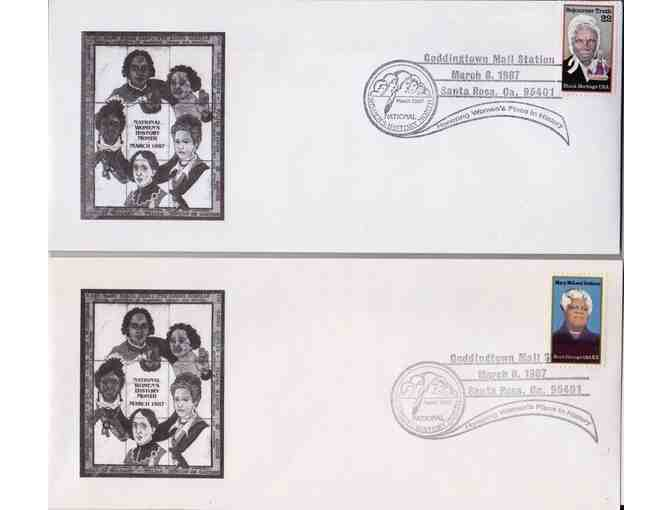 Sojourner Truth and Mary McLeod Bethune First Day Covers
