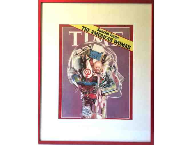 Special Edition Cover of Time Magazine Framed