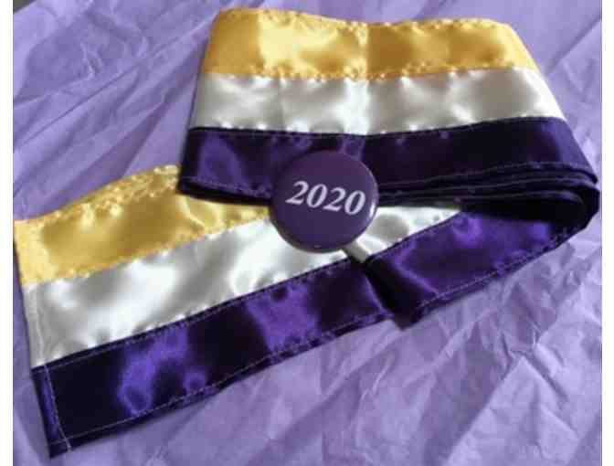 Suffrage tri-color sash