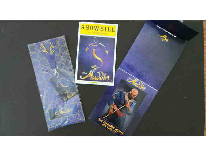 Disney Aladdin on Broadway Souvenir Package
