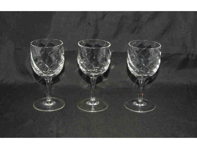 Cordial Aperitif Glasses, Set of Seven