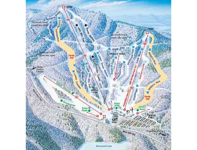 Wachusett Mountain- Two Lift Tickets