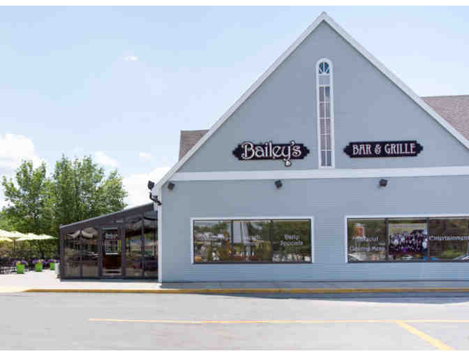 Bailey's Bar & Grille, Townsend MA - $25.00 Gift Card