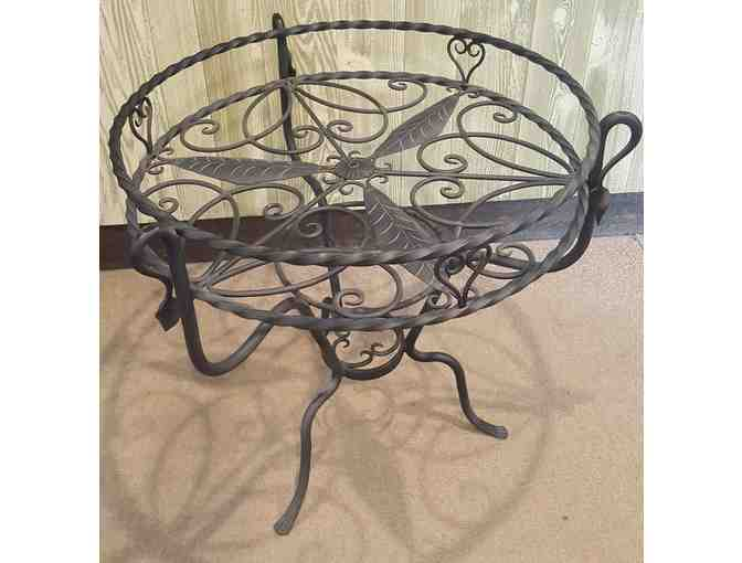 Wrought Iron 28' La Belle Plant Stand or Table by Achla Designs Fitchburg, MA