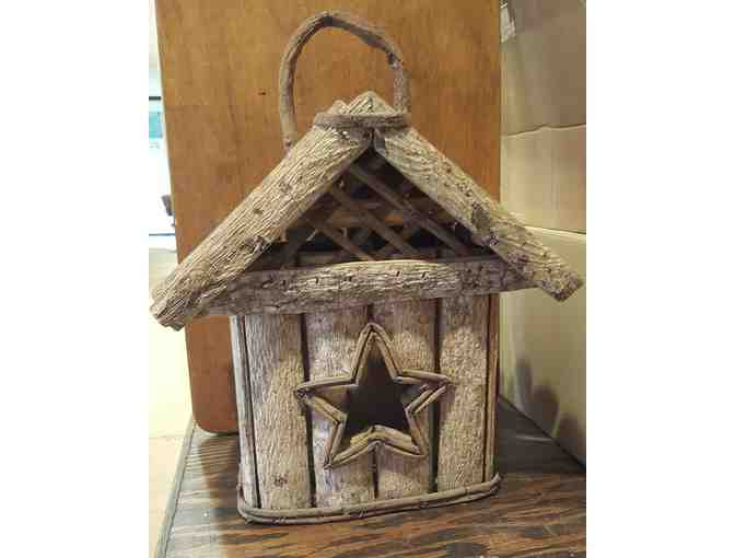 Decorative Wood Birdhouse, Indoor