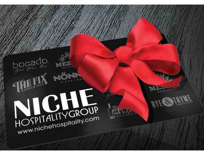 Niche Hospitality Restaurant Group - $50 Gift Certificate for Rye & Thyme, Mezcal & More