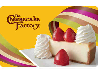 The Cheesecake Factory - $25 Gift Certificate