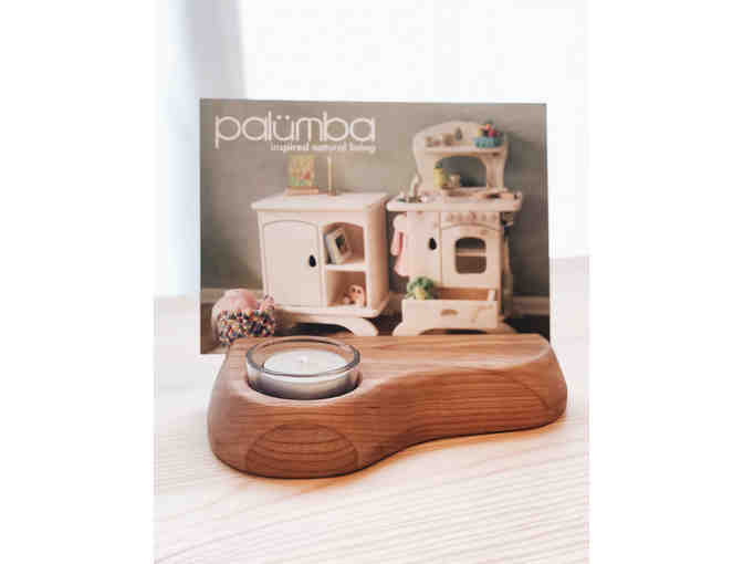 Cherrywood Postcard Holder / Tealight by Palumba