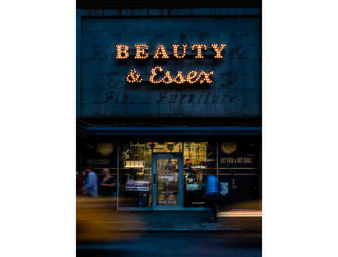 $100 Dinner & Cocktail Gift Card to Beauty & Essex