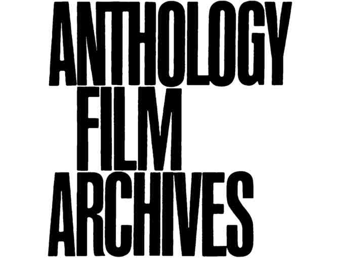 Anthology Film Archives One Year Membership
