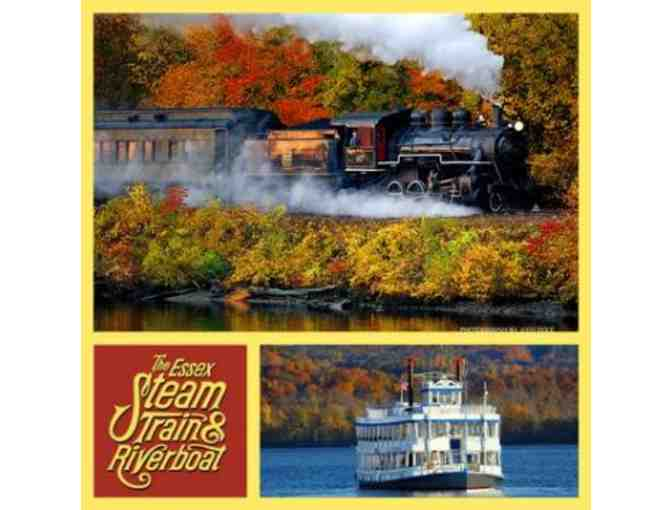 Family Fun: 4 Tickets to the Essex Steam Train and Riverboat - Photo 1