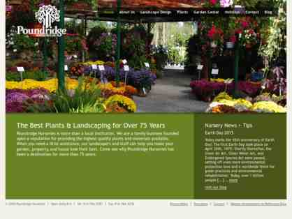 $50 Gift Certificate to Pound RIdge Nursery