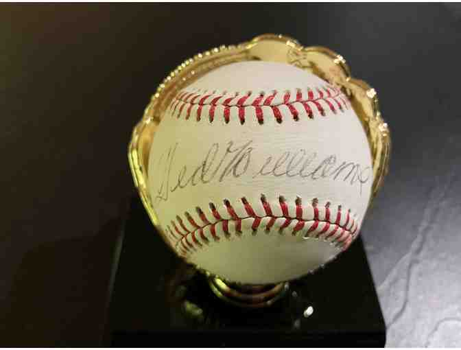 Ted Williams Boston Red Sox Autographed Baseball