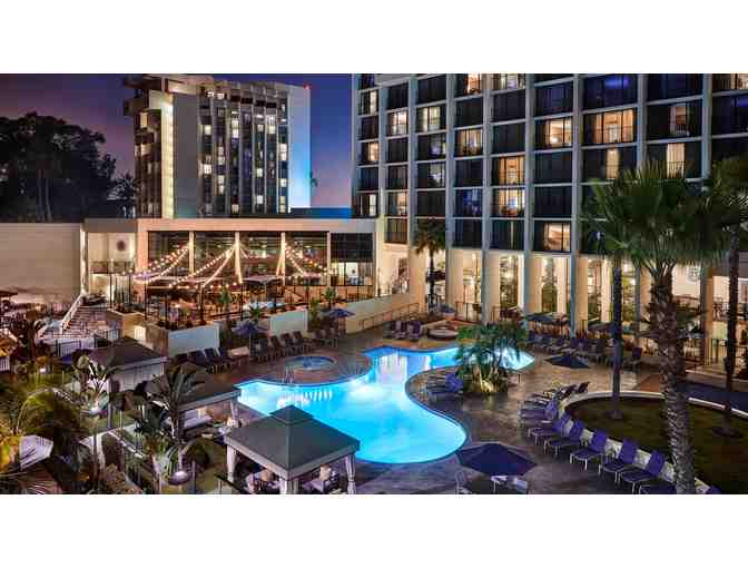 Newport Beach Marriott Hotel and Spa - 2 Night stay, breakfast and two Hornblower Tickets
