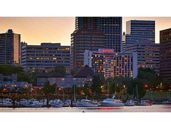 Portland Marriott Downtown Waterfront - 2 Night stay with delux view and breakfast for two