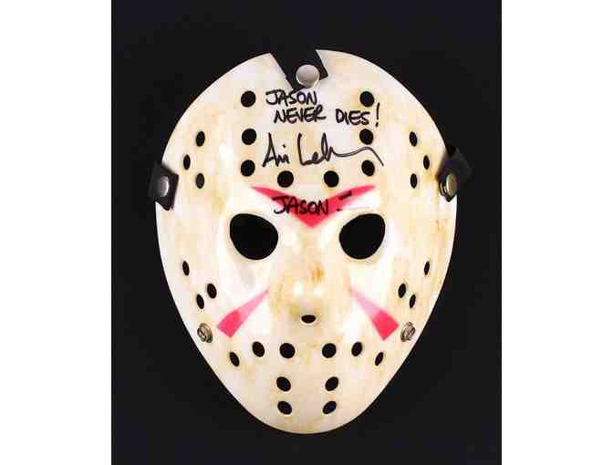 Friday the 13th Mask Autgraphed by Jason