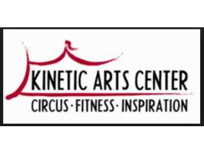 Circus Classes at Kinetic Arts Center - 3 Class Starter Pack