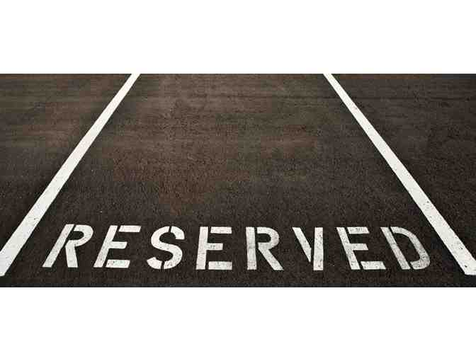 ****Cantor's Parking Space for High Holidays 2017