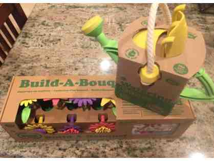 Build-a-bouquet and Watering Can Toys