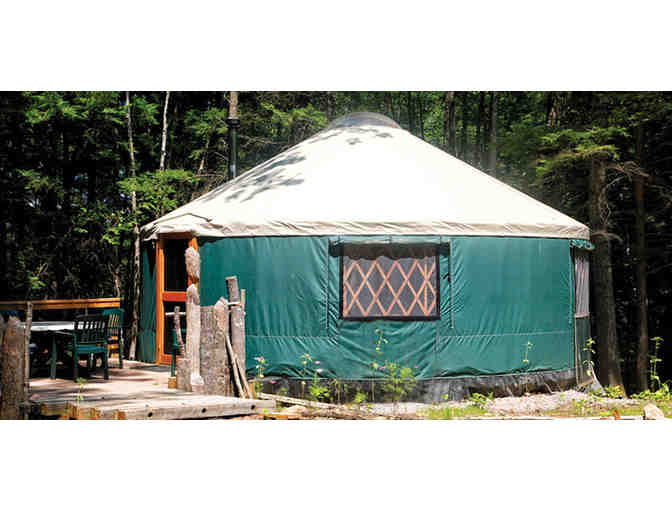 Maine Forest Yurts - One Night Stay