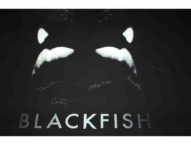 Autographed BLACKFISH Movie Poster