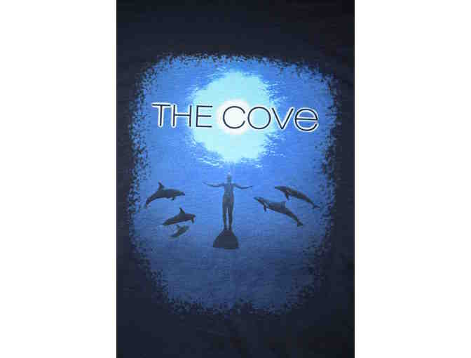 Autographed 'The Cove' Movie Poster and Tee Shirt Package. (XL)