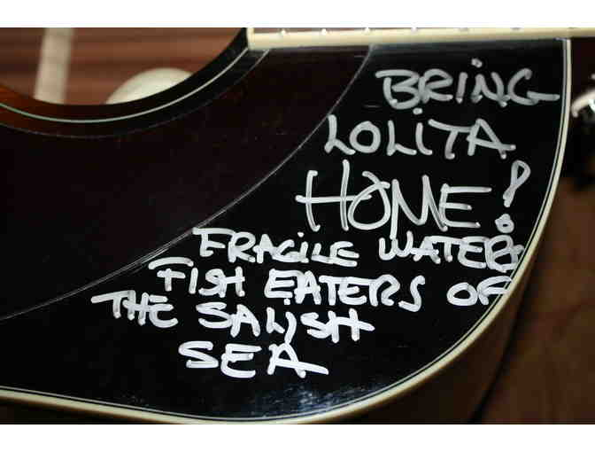 Bring Lolita Home/Fragile Waters Heart Autgraphed Guitar.