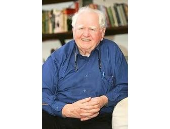 An evening with Malachy McCourt. Enjoy dinner for four with this acclaimed author.
