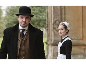 BATES in London! Lunch with DOWNTON ABBEY's Brendan Coyle at 5 star Claridges Hotel