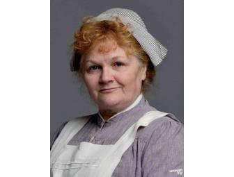 Afternoon Tea with Downton Abbey's Star Cook,  MRS. PATMORE in New York!