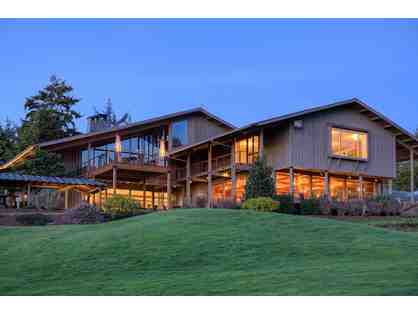3 Night Stay with 18 Holes of Golf for 2 at Salishan Spa & Golf Resort, OR.