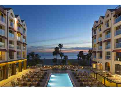 2 Nights in a Pacific Room with Breakfast & Dinner at Loews Santa Monica Beach Hotel, CA!