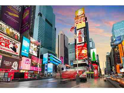 2 Nights in a Standard Room with Breakfast at the Crowne Plaza Times Square NY