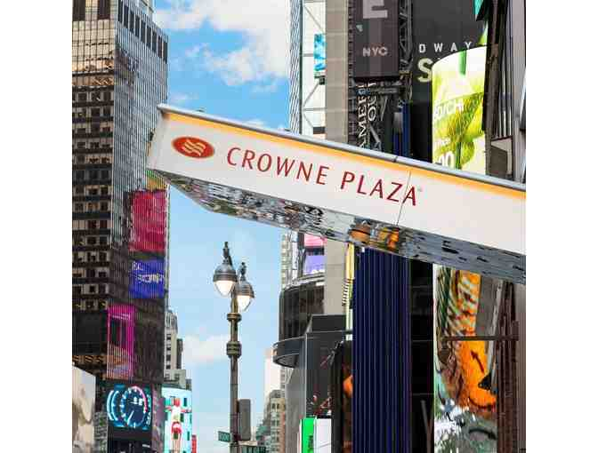 2 Nights in a Standard Room with Breakfast at the Crowne Plaza Times Square NY - Photo 3