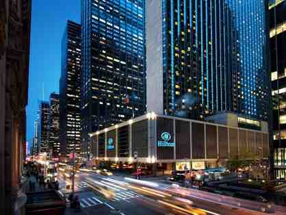 2 Night Weekend Stay in a City Double Room at The New York Hilton Midtown