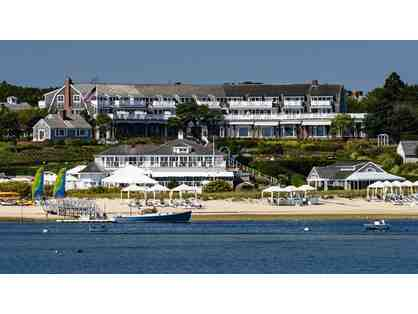 1 Night Stay with Breakfast at Chatham Bars Inn located on Cape Cod.
