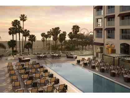2 Nights with Breakfast at the Loews Santa Monica Beach Hotel, CA.