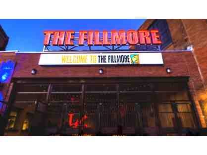 2 Tickets to the Fillmore Philadelphia & Gift Certificate to Hugo's at Sugar House Casino