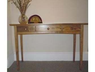 Hallway Hunt Table (Hardwood) from the Maine State Prison Showroom