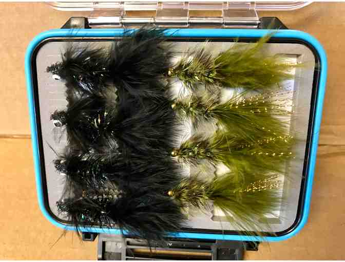 PHWFF Fly Box of Woolly Bugger's