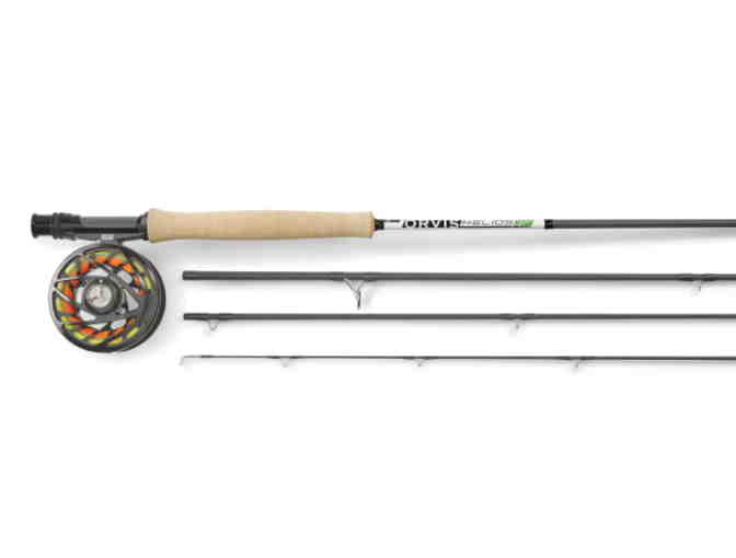 Orvis Helios 3F 5-weight, 9-foot Complete Fly Fishing Outfit