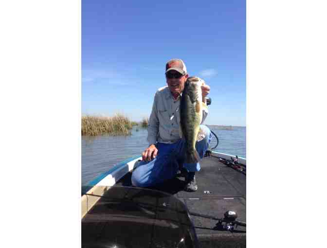 Day of Black Bass Fishing on the Delta with Tom Mulliken - Photo 1